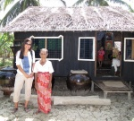 One of the homes we donated from the first trip
